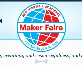 Join us at Maker Faire September 29-30