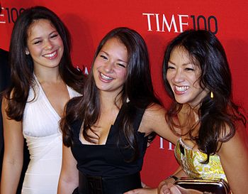 "English: Amy Chua the ""Tiger Mom"" an..."