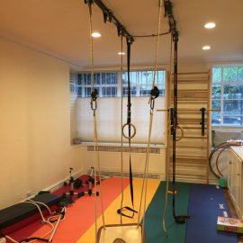 Multi-purpose Workout Room/Playroom for Crossfit, Parkour, and Gymnastics